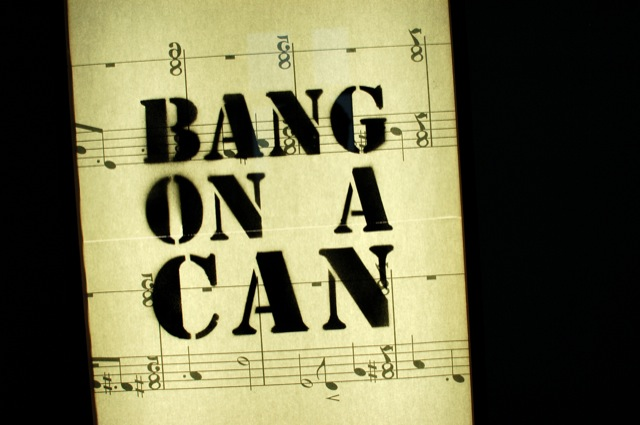 Bang on a Can concert